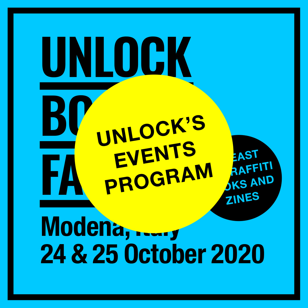 Unlock Book Fair 2020 events program